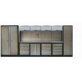 Kvalitní PROFI dílenský nábytek - 4535 x 2000 x 465 mm - TGS1300A33 | Torin BIG RED