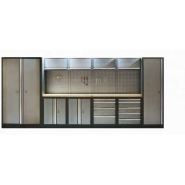 Kvalitní PROFI dílenský nábytek 4235 x 458 x 2000 mm - TGS1300AA6 | Torin BIG RED