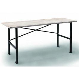 Pracovní stůl s dřevěnou pracovní deskou 1650x600x850 mm - AL0025   AHProfi