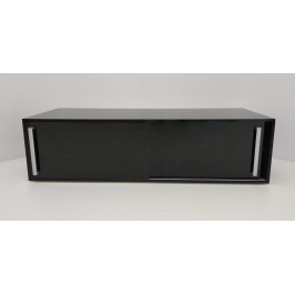 TV stůl černý lesk