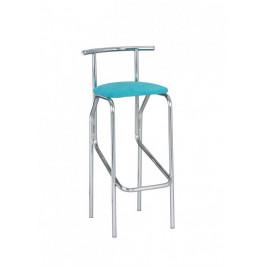 Barová židle JOLLY hocker chrom