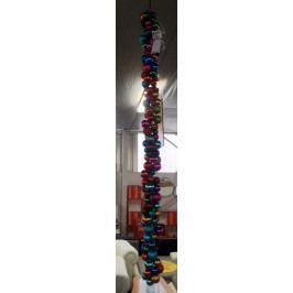 Svítící řetěz z baněk