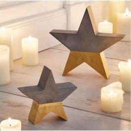 Set zlatošedých hvězd - výprodej