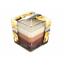 Svíčka ve skle DUHA Vanilka