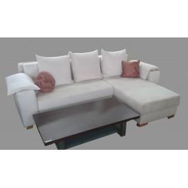Rohová sedačka Bílá