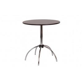 Jídelní stůl VILIK,chrom.nohy, 70 kruh