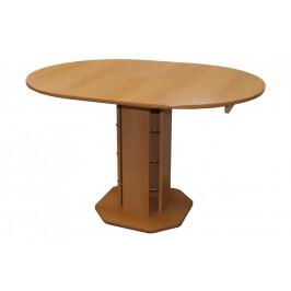 Jídelní stůl rozkl. kulatý - hnědý TADEÁŠ