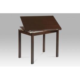 Jídelní stůl rozkládací 60+60x90 cm, ořech