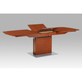 Jídelní stůl rozkl. 180+60x100x74 cm, barva třešeň