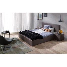 Čalouněná postel G3 180cm šedá