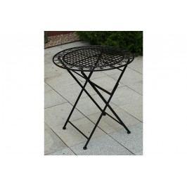 Kovový stolek, černý