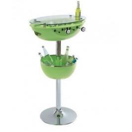 Nápojový stolek s mini fotbálkem