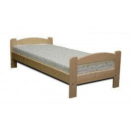 Dřevěná postel LIBOR smrk