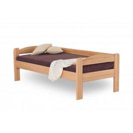 Dřevěná postel se zábranou LIBOR buk
