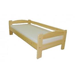 Dřevěná postel se zábranou LIBOR smrk