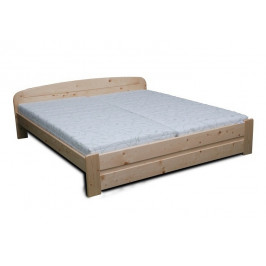 Dřevěná manželská postel MAREK - smrk