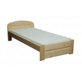 Dřevěná postel MAREK - smrk