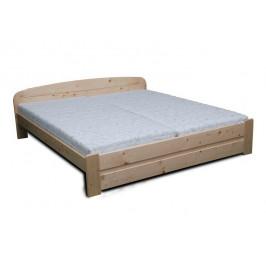 Dřevěná manželská postel MAREK - buk