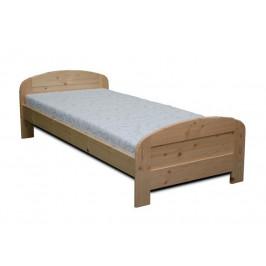 Dřevěná postel LUKÁŠ - smrk