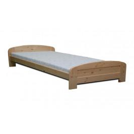 Dřevěná manželská postel LUKÁŠ - buk