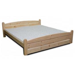 Dřevěná manželská postel KAREL - buk