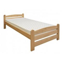 Dřevěná postel KAREL - smrk