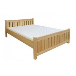 Dřevěná manželská postel KATKA - smrk