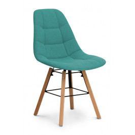 Jídelní židle RENE - tyrkysová