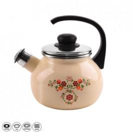 Orion Smaltovaný čajník roba s píšťalkou 1,75l