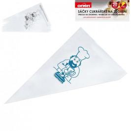Sáček cukrářský plastový 34,5 cm 20 ks