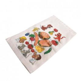 Sáček svačinový s obrázkem 16 x 24 cm