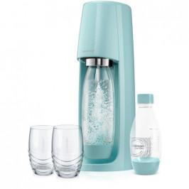Spirit Modrý výrobník perlivé vody SODA