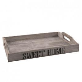 Tác dřevo s uchy 35x23 cm SWEET HOME
