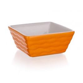 BANQUET Forma zapékací čtvercová Orange 9,5x9,5 cm