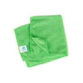 BRILANZ Utěrka z mikrovlákna 40 x 40 cm, 300g/m2, zelená