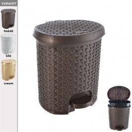 Koš odpadkový s pedálem RATAN 5,5 L