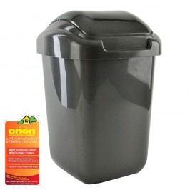 Koš odpadkový plastový s kolíbkou 50 L
