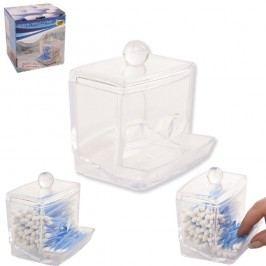 Dóza plastová na vatové tyčinky
