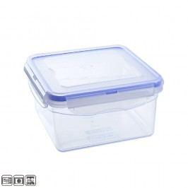 Dóza plastová s těsněním hranatá 1,3 L