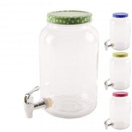 Skleněná láhev s kohoutkem 3 L