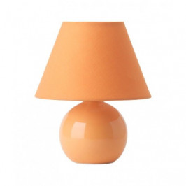 Stolní lampa PRIMO broskvová Brilliant 61047/38 4004353035746