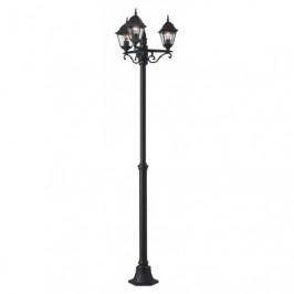 Parková tříramenná lampa NEWPORT Brilliant 44288/06 4004353129445