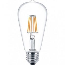 LED Filament E27, 6W Philips ND 6-60W ST64 8718696574058