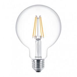 LED Filament E27, 6W Globe Philips ND 6-60W G93 8718696574171