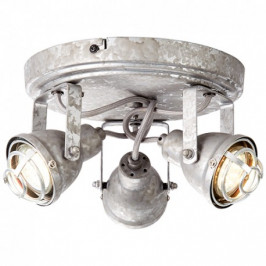Stropní bodové svítidlo BENTE antický zinek Brilliant 26334/43 4004353296536