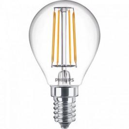 LED Filament E14, 4,3W Philips ND 4,3-40W P45 8718696809716