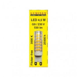 LED G9 4,5W Dimm.  L 45030