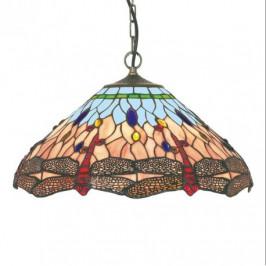 DRAGONFLY TIFFANY závěsné svítidlo  Searchlight 1283-16 5013874279682