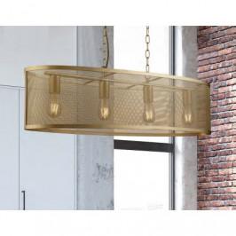 Závěsný lustr FISHNET GOLD 4 Searchlight 2484-4GO 5053423134369