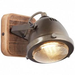 Nástěnné svítidlo CARMEN WOOD Brilliant 72010/84 4004353310638